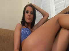 Tight anal is banged hard video