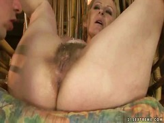 Granny enjoys nasty se... video