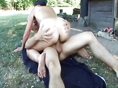 Redtube Movie:The farmer's grandma 1