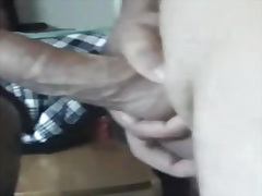 Rough facefuck and facial video
