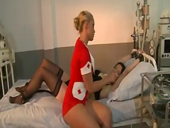 Sexy mistress kathia nobili is making sure that slutty lexy gets the right medical attention
