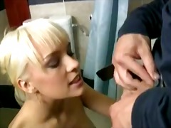 Blue angel and cristian clay in sex after shower