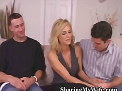 Tube8 Movie:Wife hungry for new cock