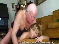 Grandpa bangs blonde t... video