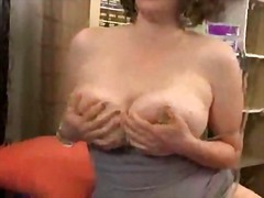 tits, girls, redhead, big, solo, made, webcam