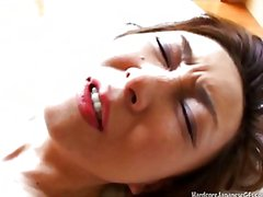 Sultry japanese milf tastes some hard...