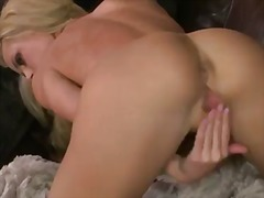 Wonderful blonde girl ... video