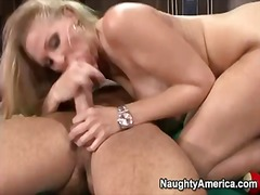 blonde, danny mountain, milf