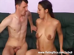 See: Brutal fist fucked and...
