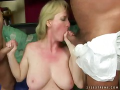mature, monik, threesome