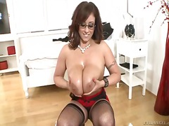 boobs, mature, big boobs, titjob,