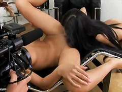 Pornoid Movie:Anita pearl and pure angel str...