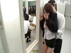 Hot japanese babe gets... video