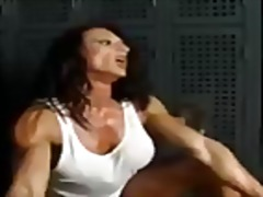 See: Muscular goddess gives...