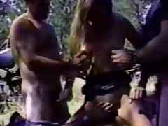 Sun Porno Movie:Sturgis biker gang bang