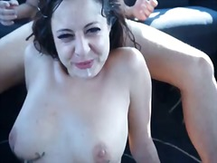 Amateur tattoed slut m... video