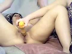 Private Home Clips Movie:Threesome enjoyment in bath an...