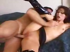 pussy, fucking, shaved, squirting, boots