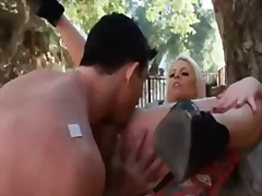 Thumb: Busty blonde britney a...