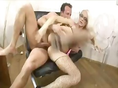 stacy silver,  fishnet, milf, pussy