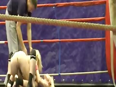 Exciting wrestling wit... video