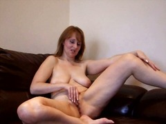 Thumb: Busty old woman rubs h...