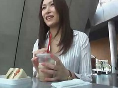 Asian chick gets naked video