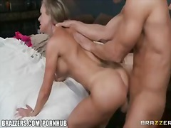 cowgirl, mom, doggystyle, blonde
