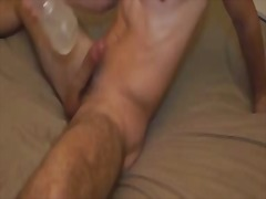 Alone twink play with ... - BoyFriendTV