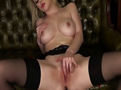 See: Solo blonde with huge ...