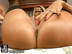 Horny jasmine rouge on...