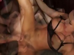 BeFuck Movie:Brunette bitches ride a huge s...