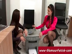 Sun Porno Movie:Secretaries photocopying their...