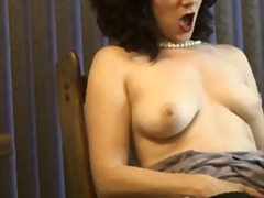 nude, foxy, lady, sexual, mature, video, smoking, voluptuous