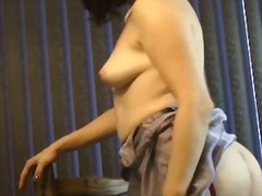 nude, voluptuous, milf, video