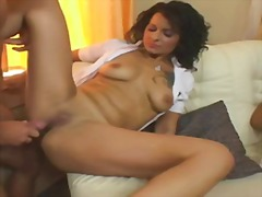 Anal foursome for hung... video
