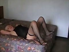 mature, amateur, granny, facial,