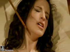 BeFuck Movie:Beautiful dark haired lady ann...