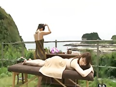 Outdoor spa massage 1 - Xhamster