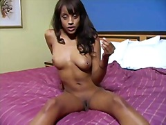 Hot ebony instructor. joi