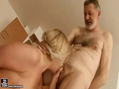 Blonde young girl cynt... video