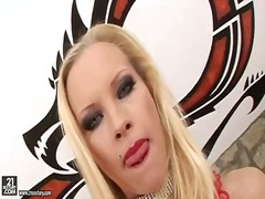 BeFuck Movie:Red lips gorgeous babes gets s...
