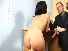 PornHub Movie:Hot brunette gilr goes through...