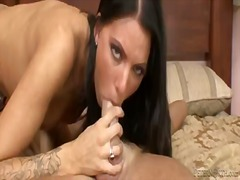 Pornoid Movie:Dark haired babe juelz ventura...