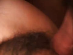 Hairy asian chick luck... preview