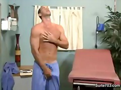 Horny doctor teasing h... video