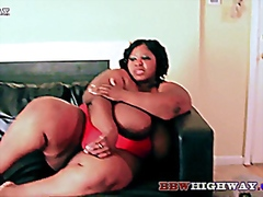 Miss keisha fat black mama wit big na...