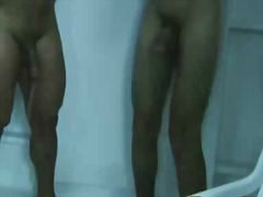 Cute hunks showering t... video