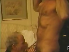 Filthy gay guys beatin... video
