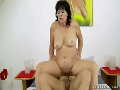 toy, mature, helena may, big cock